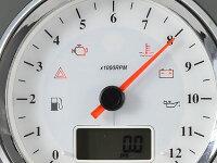 【ACEWELL】【エースウェル】【】【スピードメーター】【多機能デジタルメーター】【回転数:12000rpm/カラー:ブラックパネル】【】