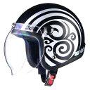 LEAD リード工業 ジェットヘルメット BARTON(バートン) BC-10 ジェットヘルメット