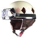 【LEAD】【リード工業】【半帽タイプヘルメット】【Street Alice (ストリートアリス) QH-4 ハーフヘルメット】