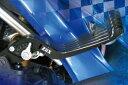 クレバーライト:CLEVER LIGHT レバー ZiiX 純正対応 可倒式ブレーキレバー:F11 カラー:シルバー KTM 690 DUKE 08-09