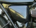 【在庫あり】OSCAR オスカー スリムサイドカバー 左右セット 黒ゲル W650 : W400