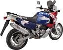 XRV750 AFRICA TWIN [アフリカツイン] 96-03 スリップオンマフラー REMUS レムス REMUS/REVOLUTION GP スリップオン ストリート・リーガル REV GP アルミ