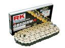 【セール特価!】 RK GBレーシングゴールドチェーンシリーズ GB415HRU リンク数:150 50MINI ADVENTURE [アドベンチャー] 50RS 50SX1 50SX2 NSF100 NSRミニ RS125R TZ125 チョイノリ