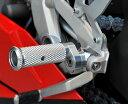 AELLA アエラ フットペグ・ステップ・フロアボード 可変ステップバーキット カラー:ポリッシュ 1199 PANIGALE [パニガーレ] F3 F4