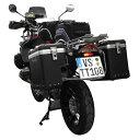 TOURATECH ツラーテック パニアケース・サイドボックス ZEGA-PRO「And-black」スペシャルシステム サイズ:45+45L R1200GS : R1200GS /ADV