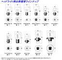 M&H マツシマ エムアンドエイチマツシマ 各種バルブ 白熱電球 [ヘッド球] B35 BA20D