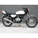 ミズノモーター 【ゼス】KH250 オリジナル ロング集合チャンバー タイプ:メッキタイプ KH250