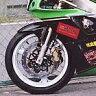 【セール特価!】【KDCサービス】【フロントフェンダー】【フロントフェンダー】【カラー:黒ゲル】【ZXR400】