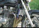 PLOT プロト オイルクーラー本体 ラウンドオイルクーラーシステム カラー:シルバー Z1000J