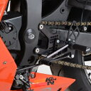 R&G アールアンドジー バックステップ (調整式)- ロードタイプ【Adjustable Rearsets- ROAD SETUP】■