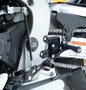 R&G アールアンドジー バックステップ (調整式)【Adjustable Rearsets】■ CBR1000RR SP CBR1000RR ファイアーブレード