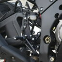 R&G アールアンドジー バックステップ (調整式)- ロードタイプ【Adjustable Rearsets(Road Shift)】■ ZX-10R