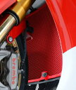 R&G アールアンドジー コアガード ラジエターガード【Radiator Guards】■ カラー:レッド CBR1000RR SP CBR1000RR ファイ...