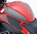 R&G アールアンドジー タンクグリップ・タンクパッド【Tank Traction Grips】■ カラー:クリア NC700S NC750S