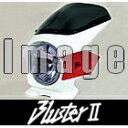 【セール特価!】N PROJECT Nプロジェクト ビキニカウル・バイザー ブラスターII エアロスクリーン カラー:白ゲルコート グラフィック:ファイヤーバード(22223) スクリーンカラー:スモーク