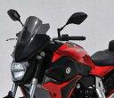 ERMAX アルマックス スクリーン Saute vent メーターバイザー カラー:グレークリア MT-07 14-15