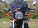 CHIC DESIGN シックデザイン ビキニカウル・バイザー ロードコメット2 カラー:ギャラクシーシルバー スクリーンタイプ:クリア ZEPHYR750 [ゼファー] /RS
