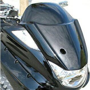 VIVIDPOWER ビビッドパワー スクーター外装 フロントフェイス 3連メーター用 カラー:ブラック2 MAJESTY250[マジェスティ](SG03J)