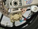 Ladybird レディバード ブレンボリアキャリパー&ステーキット カラー:黒 00-06 ZX-12R