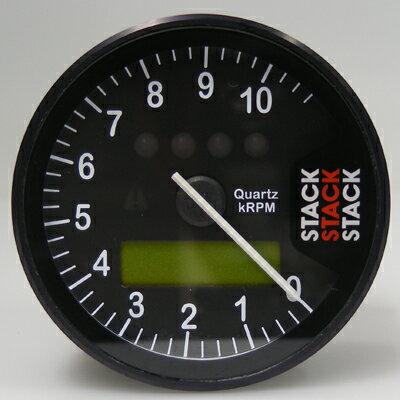 【STACK】【スタック】【タコメーター】【ST700SR タックタイマー ダッシュ・システム ベースキット】【表示回転数:0-3000-13000rpm メーターパネルカラー:クラシックブラック(針=ホワイト)】