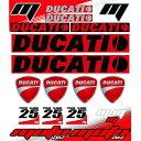 MOTOINKZ モトインクズ ステッカー・デカール ユニバーサル ドゥカティ ステッカーシート(Universal DUCATI Sticker Sheet)