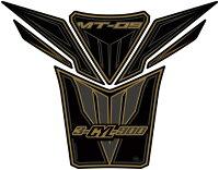 【MOTOGRAFIX】【モトグラフィックス】【】【タンクパッド】【タンクパッド】【カラー:ブラック/ゴールド】【MT-09】