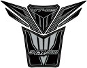 MOTOGRAFIX モトグラフィックス タンクパッド カラー:ブラック/シルバー MT-09 トレーサー