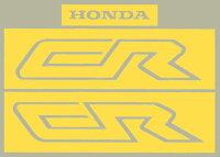 【ホーリーエクイップ】【HollyEquip】【】【ステッカー・デカール】【1987HondaCR250Rシートステンシルセット】【】