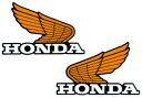 HONDA ホンダ ステッカー・デカール オールドウイングステッカー14