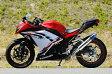 MotoGear モトギア フルエキゾーストマフラー プリズム ツイン フルエキゾーストマフラー サイレンサータイプ:チタンスラッシュエンドタイプC(イン側、エンド側、カール部) NINJA250 [ニンジャ250]