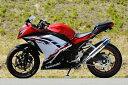 MotoGear モトギア フルエキゾーストマフラー プリズム ツイン フルエキゾーストマフラー サイレンサータイプ:チタンスラッシュエンドタイプC(イン側、エ...