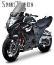【セール特価!】 ZEROGRAVITY ゼログラビティ スクリーン スクリーン スポーツツーリングタイプ カラー:スモーク バンディット1250 F 10-12 GSX1250F 10-12
