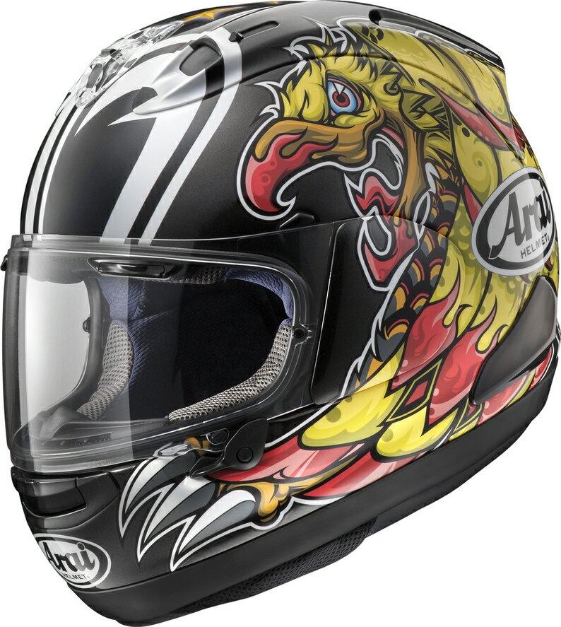 Arai アライ フルフェイスヘルメット RX-7X NAKASUGA [ナカスガ] ヘルメット サイズ:XL(61-62cm)