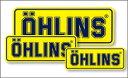 【セール特価!】OHLINS オーリンズ ステッカー・デカール レーシングステッカー