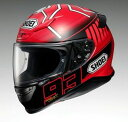 【セール特価!】SHOEI ショウエイ フルフェイスヘルメット Z-7 MARQUEZ3 (ゼット-セブン マルケス3) ヘルメット サイズ:L (59cm)
