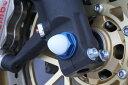 TSR テクニカルスポーツレーシング ガード・スライダー アルミフロントアクスルボルトM18 ブルー CBR1000RR FIRE BLADE [ファイアブレード] VFR1200F