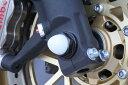 TSR テクニカルスポーツレーシング ガード・スライダー アルミフロントアクスルボルトM18 ブラック CBR1000RR FIRE BLADE [ファイアブレード] VFR1200F