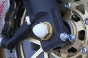 TSR テクニカルスポーツレーシング ガード・スライダー アルミフロントアクスルボルトM18 ゴールド CBR1000RR FIRE BLADE [ファイアブレード] VFR1200F