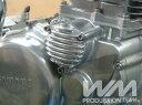 WM ダブルエム(ウェリントン) エンジンカバー フィン付き オイルフィルターカバー SR400 SR500 SRX400 SRX600