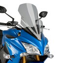 【セール特価!】Puig:プーチ スクリーン ツーリングスクリーン カラー:スモーク GSX-S1000F