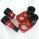 SME ガード・スライダー フロント&リアアクスル ブロック スライダーセット Slide カラー:ブラック WR250X (モタード)