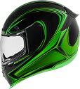 ICON アイコン フルフェイスヘルメット AIRFRAME PRO HALO HELMET エアフレーム プロ・ヘイロー・ヘルメット【グリーン】 サイズ:XL...