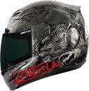 【在庫あり】ICON アイコン フルフェイスヘルメット AIRMADA THRILLER HELMET エアマーダ・スリラー・ヘルメット 【BLACK】 サイズ:M(57-58cm)