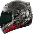 ICON アイコン フルフェイスヘルメット AIRMADA THRILLER HELMET エアマーダ・スリラー・ヘルメット 【BLACK】 サイズ:XL(61-62cm)
