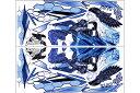 PLOT プロト ステッカー・デカール デカールキット ヴァルキリー カラー:ブルー YZF-R25 YZF-R3