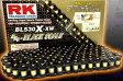 【セール特価!】 RK チェーン BLブラックスケールシリーズチェーン BL525X-XW リンク数:116
