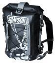 SIMPSON シンプソン リュックサック・ナップザック Water Proofing Backpac [ウォータープルーフバックパック] カラー:ブラック
