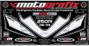 MOTOGRAFIX モトグラフィックス ステッカー・デカール ボディーパッド NINJA250R [ニンジャ] 08-12