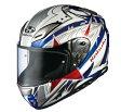 OGK KABUTO オージーケーカブト フルフェイスヘルメット AEROBLADE-III [エアロブレード3] STELLATO [ステラート] トリコロール ヘルメット サイズ:XS
