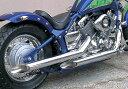 【在庫あり】EASYRIDERS イージーライダース フルエキゾーストマフラー 70Φファットドラッグマフラー DRAGSTAR400 CLASSIC [ドラッグスター] DRAGSTAR400 [ドラッグスター]